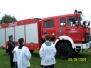 Poświęcenie auta i remizy strażackiej w Górnie